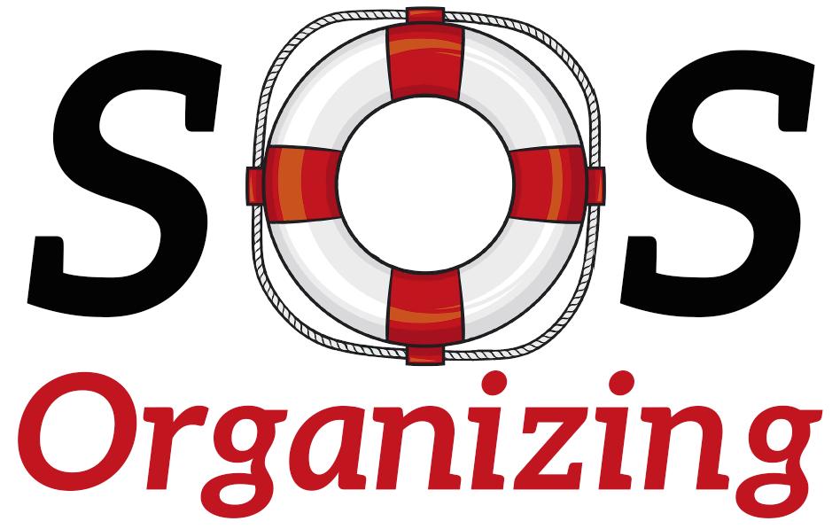 logo of sosorganizing with lifesaver